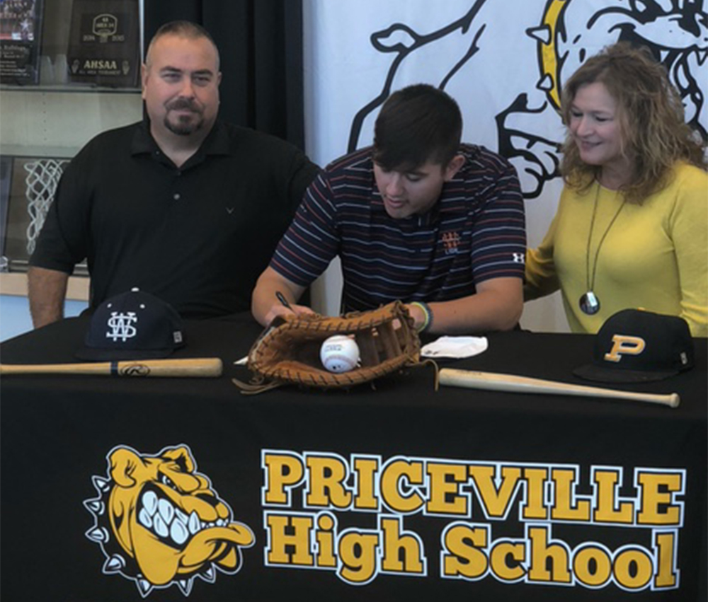Priceville's Mann signs with Wallace State to play baseball
