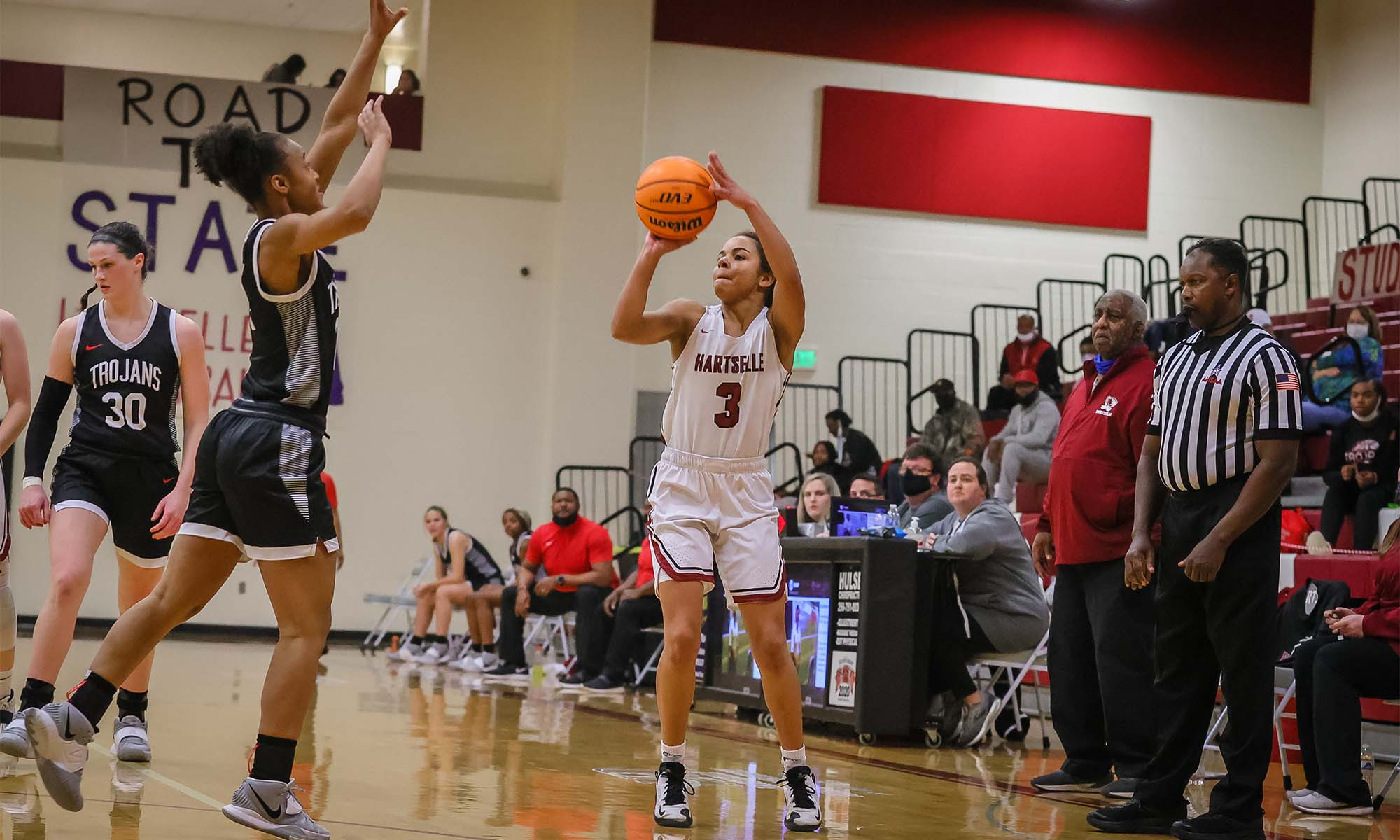 Lady Tigers comeback from 21 point deficit to defeat Muscle Shoals 48-45