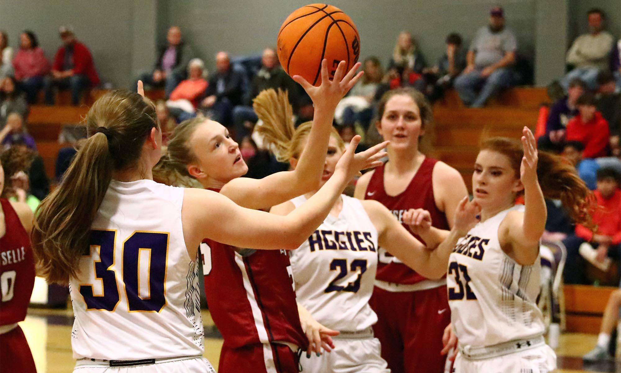Strong second quarter leads Lady Tigers to 61-44 win at Fairview