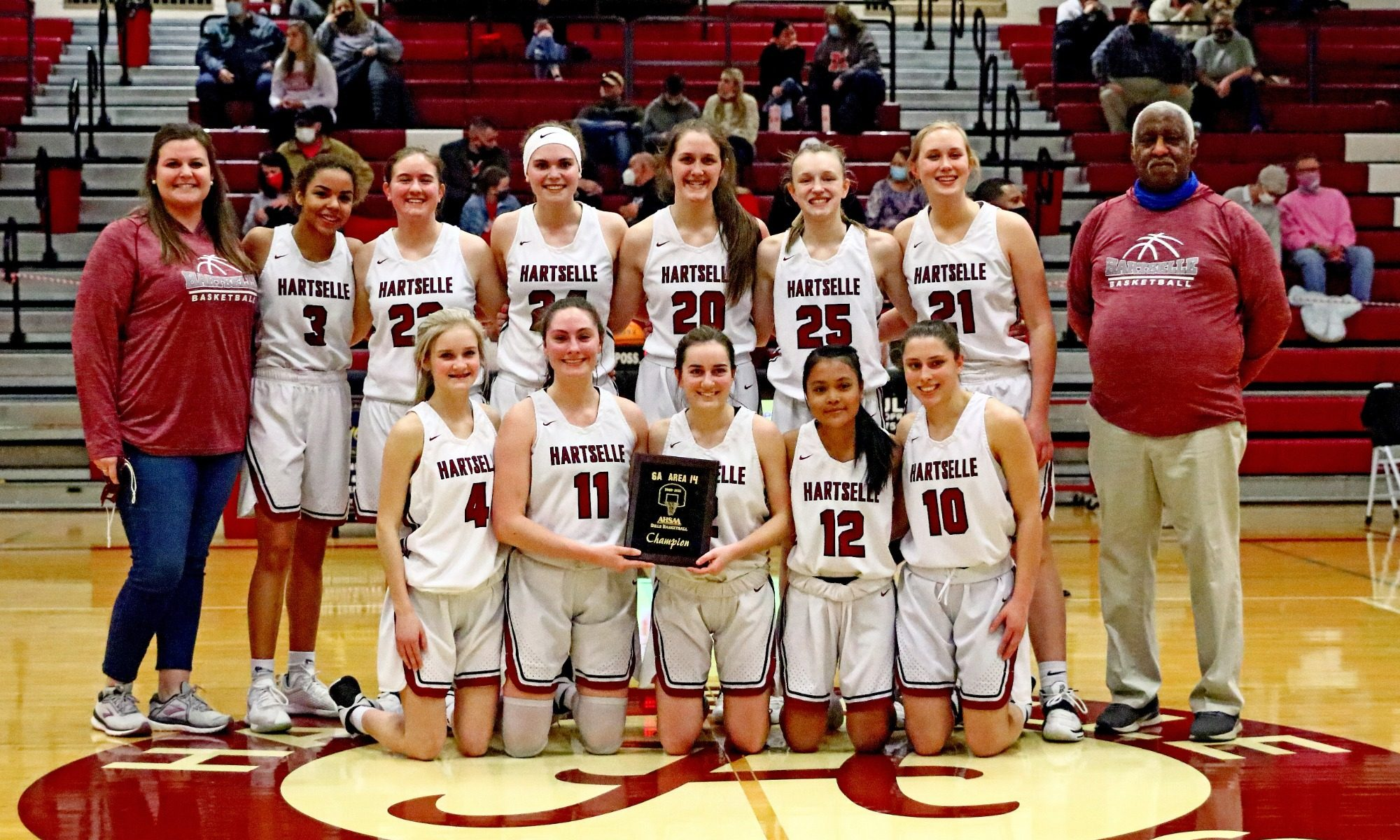 Marchbanks double-double leads Lady Tigers to area championship