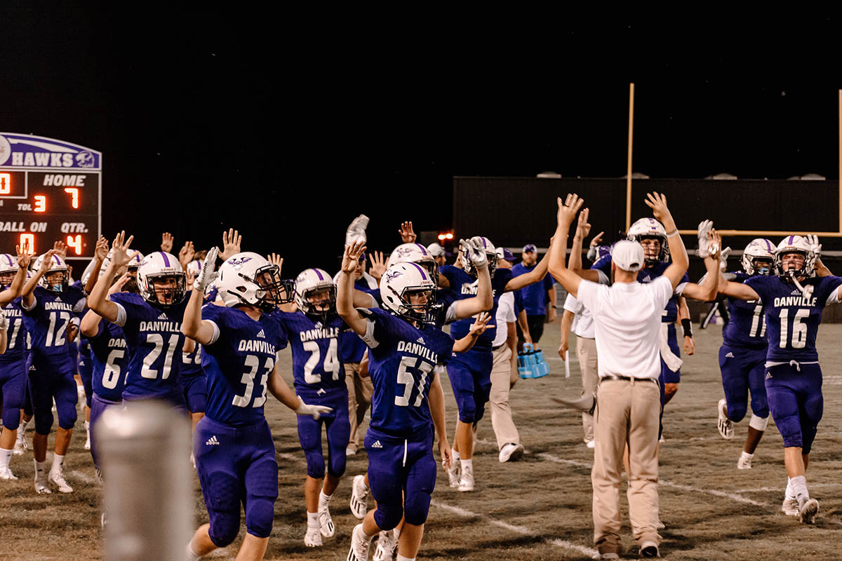 Danville ends Falkville's series win streak with a 27-7 victory