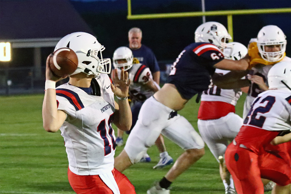 Brewer falls on road 49-7 at East Limestone