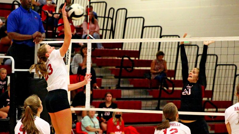 Hartselle volleyball moves to 2-0 in Area play with win over Muscle Shoals