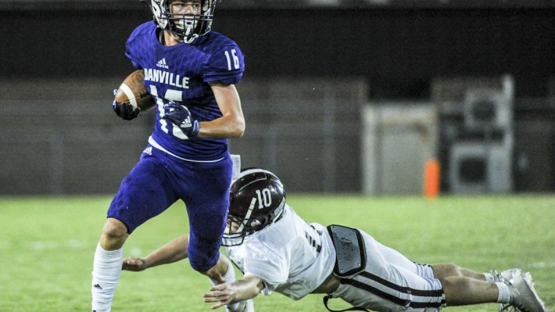 Danville comes up short in 33-17 loss to Lauderdale Co.