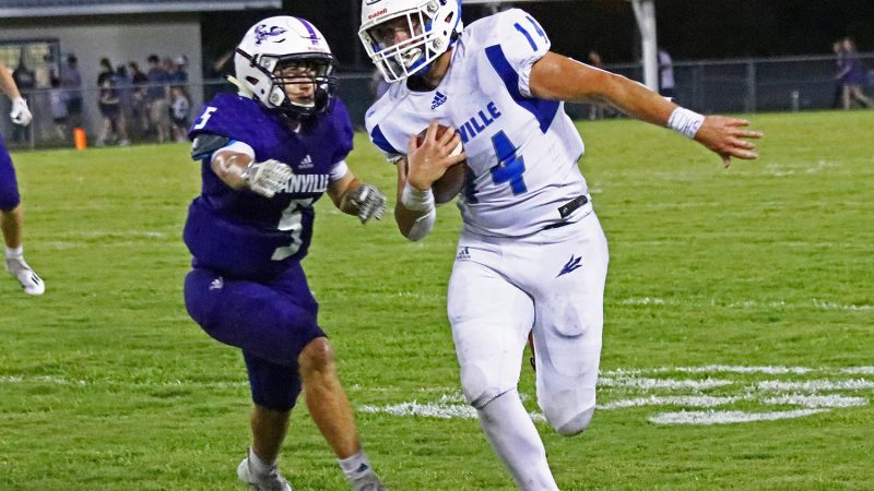 Greenfield's four touchdowns lead Falkville to a 54-12 win