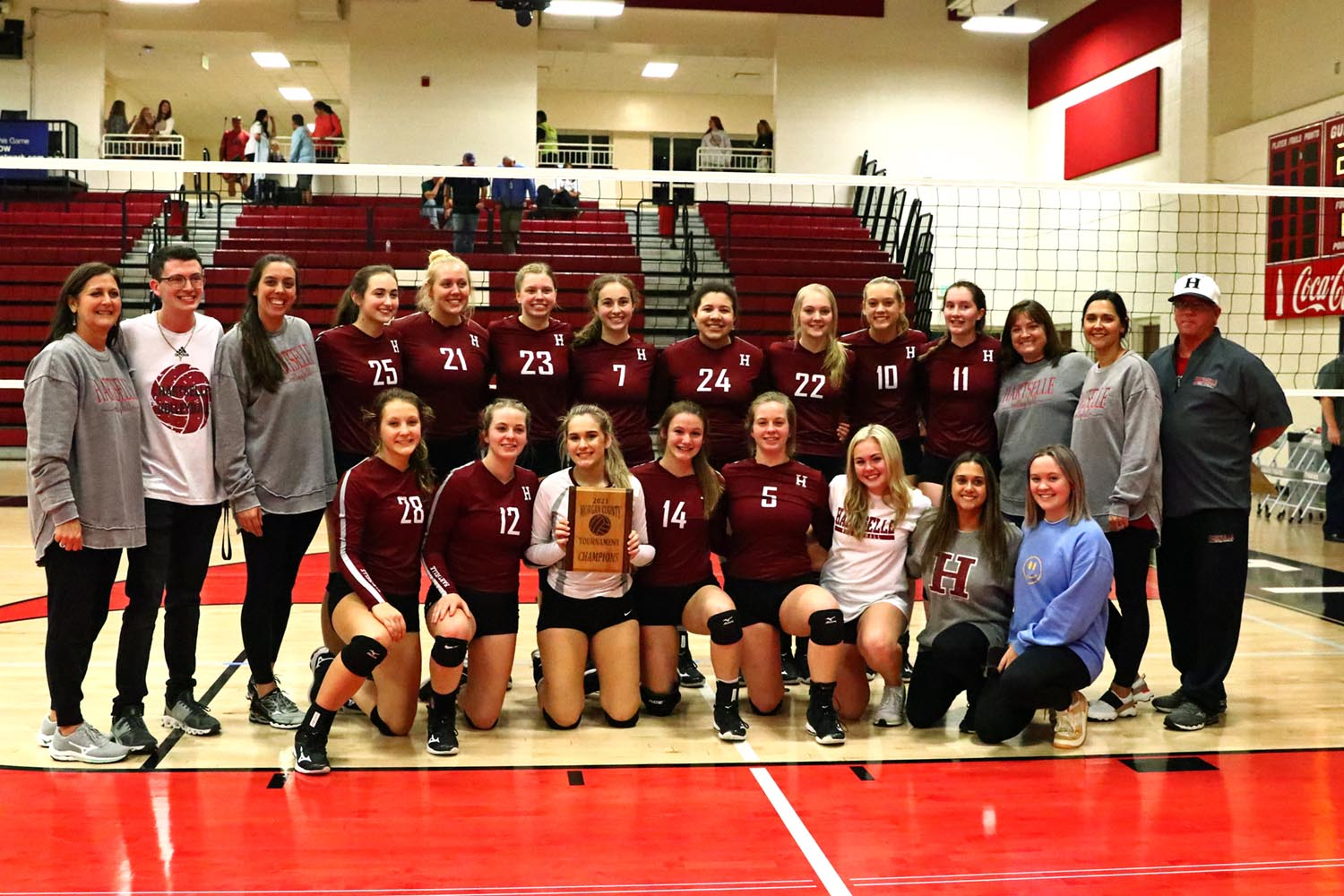 Lady Tigers win third straight Morgan County volleyball title