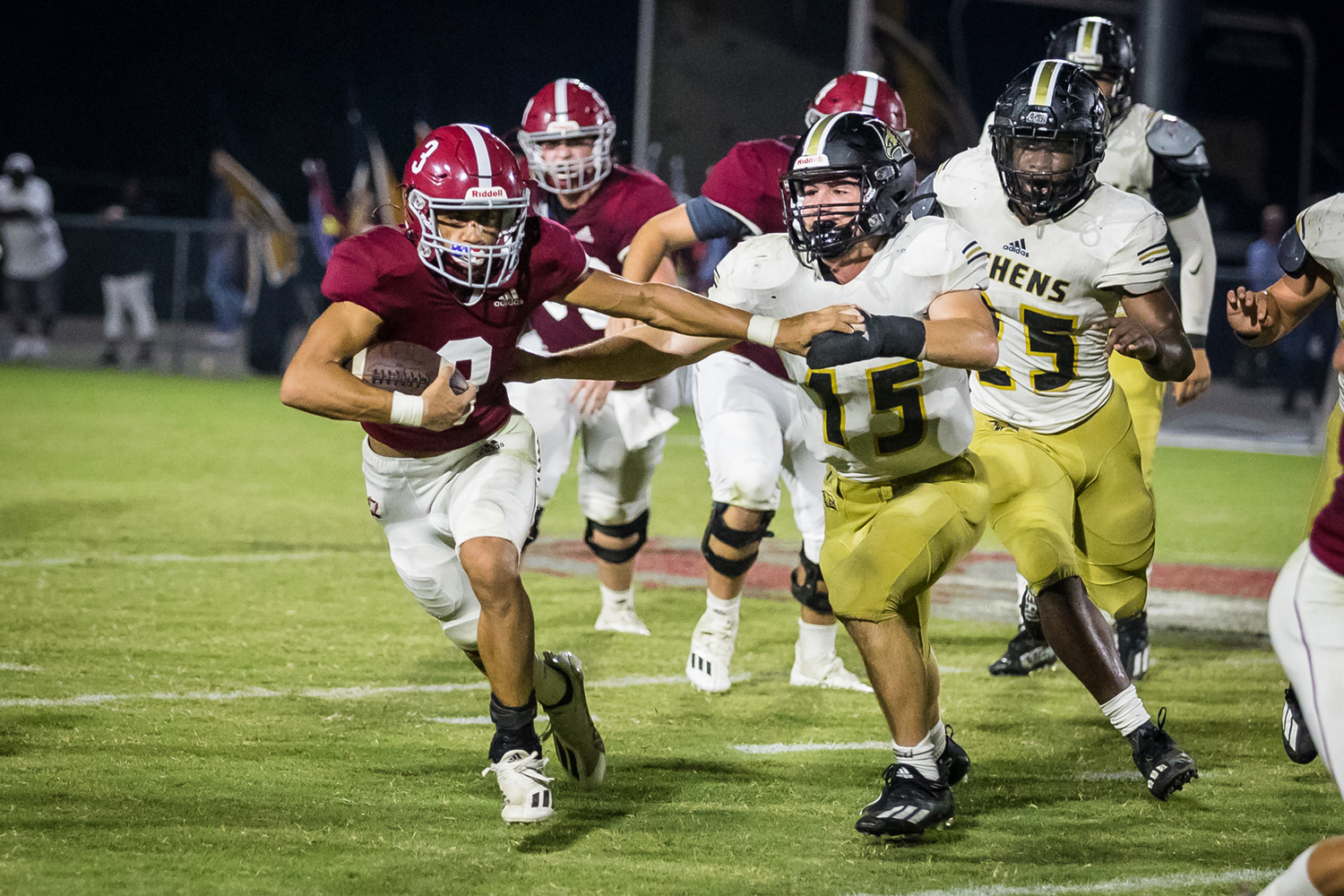 Hartselle pulls away for a 45-34 win over Athens